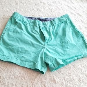 Womens size 12 shorts Teal Blue Tommy Hilfiger EUC